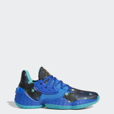 Men Basketball Blue Harden Vol. 4 Shoes