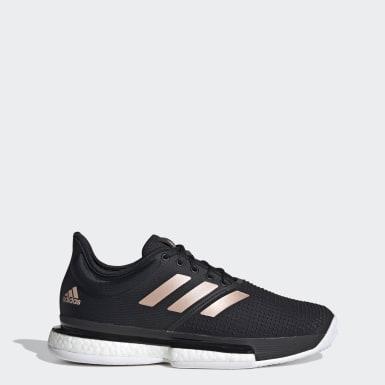 Sapatos SoleCourt Preto Mulher Ténis