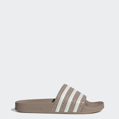 Women Originals Beige adidas Adilette Slides​