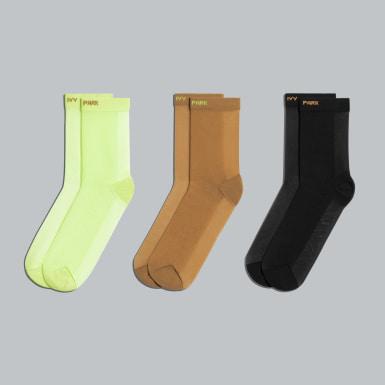 Originals Gul 3-Pack Sheer sokker