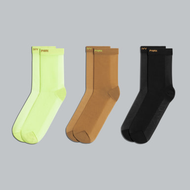 Originals Yellow 3-Pack Sheer Socks
