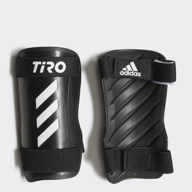 Football White Tiro Training Shin Guards