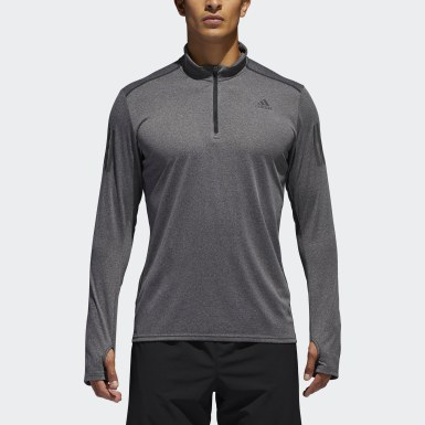 Response 1/2 Zip Long Sleeve Tee