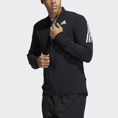 Men Training Black AEROREADY 3-Stripes Jacket