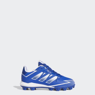 Children Baseball Blue Afterburner 7 MD Cleats