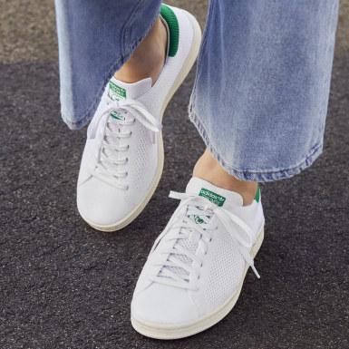 Erkek Originals Beyaz Stan Smith OG Primeknit Ayakkabı