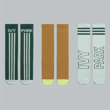 Originals Green 3-Pack Logo Socks
