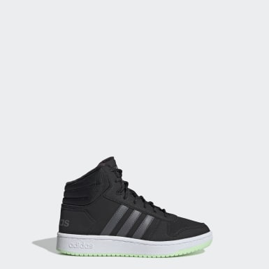 Barn Basket Svart Hoops 2.0 Mid Shoes