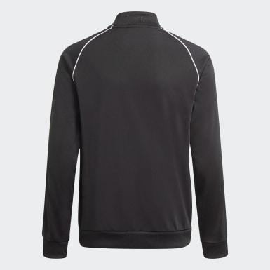 Děti Originals černá Sportovní bunda Adicolor SST