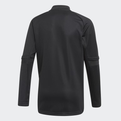Kids Football Black Condivo 20 Training Top
