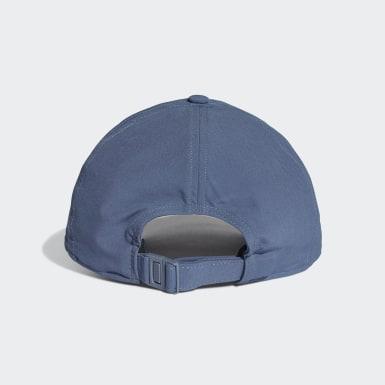 Cappellino C40 3-Stripes Climalite Blu Training