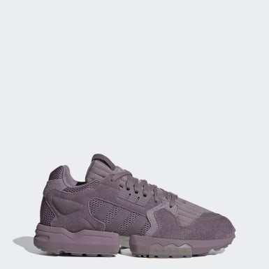 Men's Originals Purple ZX Torsion Shoes
