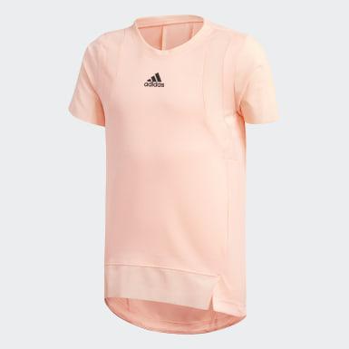 Dívky Trénink oranžová Tričko HEAT.RDY