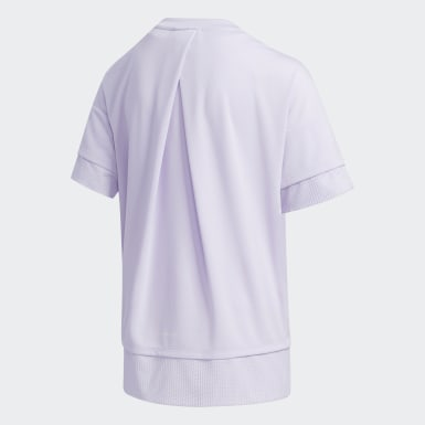Girls Training Purple UR Tee