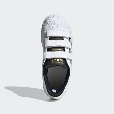 Kids Originals White Superstar Stormtrooper Shoes