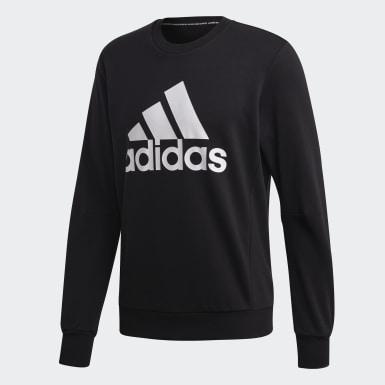 Sweat-shirt Must Haves Badge of Sport Crew noir Hommes Essentials