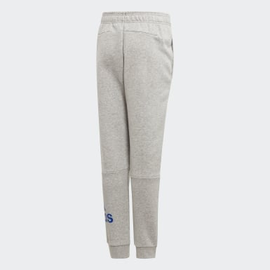 Youth 8-16 Years Training Grey Must Haves Badge of Sport Fleece Joggers