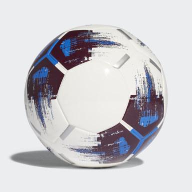 Football White Team Sala Ball