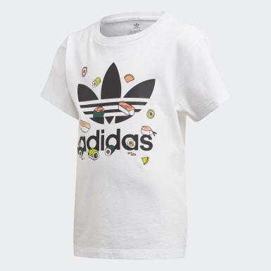 Kids 4-8 Years Originals White Shorts Set