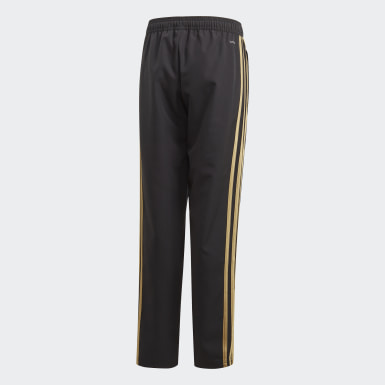 Boys Football Black Real Madrid Presentation Pants