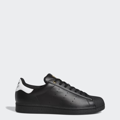 Men Originals Black Superstar Stan Smith Shoes