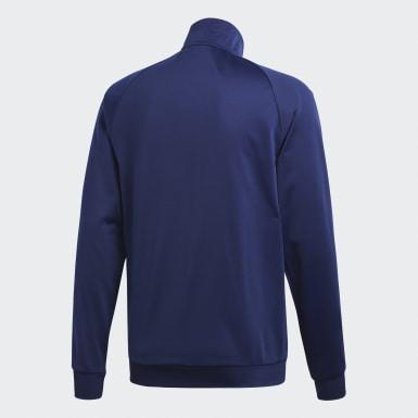 Männer Training Core 18 Jacke Blau