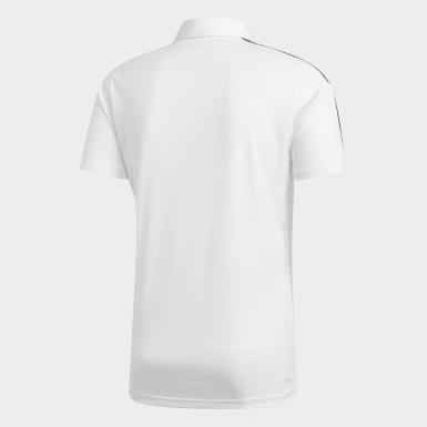 Erkek Training White Design 2 Move Polo Tişört