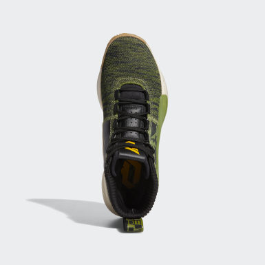 Men's Basketball Green Dame 5 Shoes