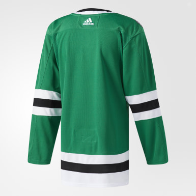 Hockey Green Stars Home Authentic Pro Jersey