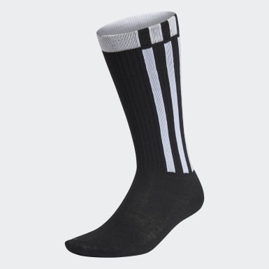 Lifestyle Black 3-Stripes Essentials Crew Socks 1 Pair