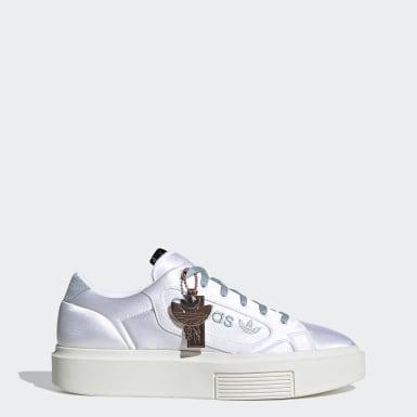 Frauen Originals adidas Sleek Super Schuh Weiß