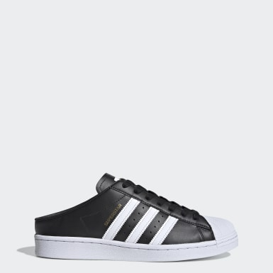 Originals Sort Superstar Slip-on sko