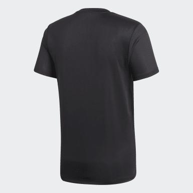 Camiseta de Entrenamiento Core 18 Negro Hombre Fútbol