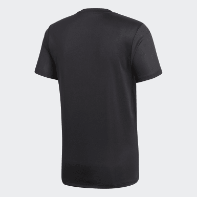 Men Soccer Black Core 18 Training Jersey