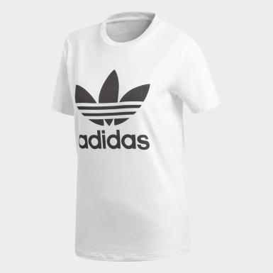 Camiseta Trifolio Blanco Mujer Originals