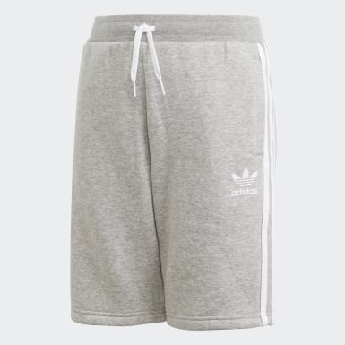 Kids Originals Grey Fleece Shorts