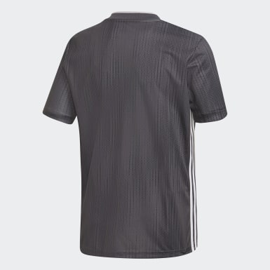 Maillot Tiro 19 gris Adolescents Soccer