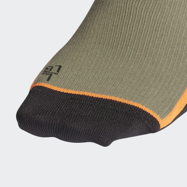 Training Green Alphaskin Ultralight Performance Crew Socks