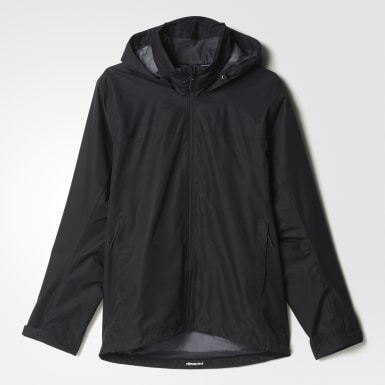 Men Urban Outdoor Black Wandertag Jacket