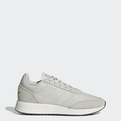 Men Sport Inspired Grey Run 70s Shoes