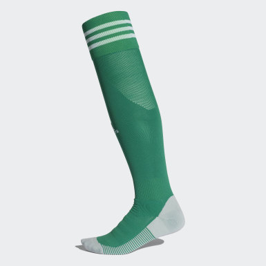 Men Football Green AdiSocks Knee Socks