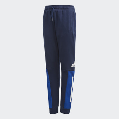 Pantaloni Sport ID Blu Ragazzo Training