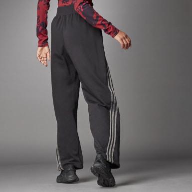 Pantalon Wide noir Femmes Athletics