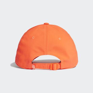 Volleyball Orange Baseball Cap