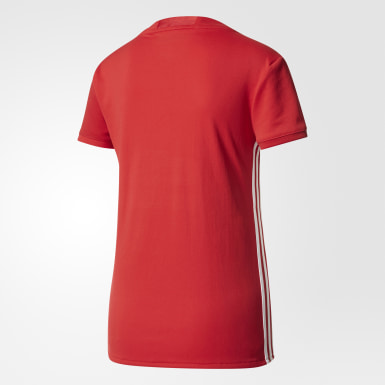 Playera Manchester United FC Home Rojo Mujer Fútbol