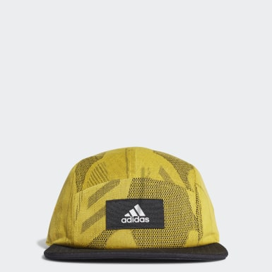 Training Yellow 5-Panel Graphic Cap