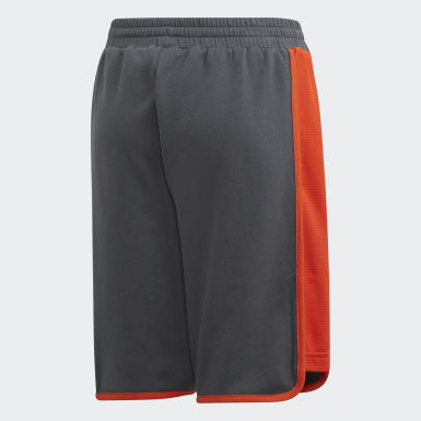 Shorts Athletics ID Gris Niño Training