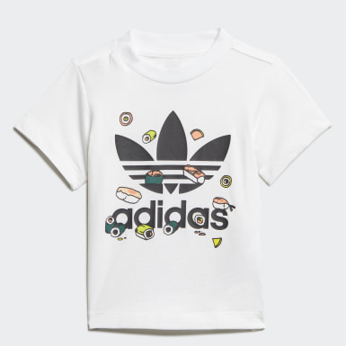 Camiseta Sushi Branco Kids Originals