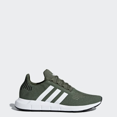Women's Originals Green Swift Run Shoes