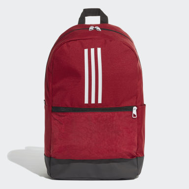 Zaino Classic 3-Stripes Bordeaux Training